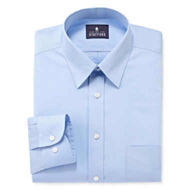 jcpenney.com | Stafford® Comfort Stretch Long Sleeve Dress Shirt