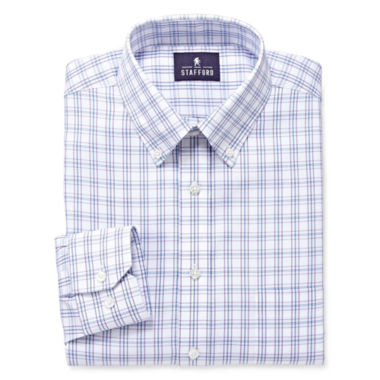 jcpenney.com | Stafford® Executive Pinpoint Oxford Dress Shirt