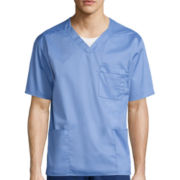 WonderWink® Short-Sleeve V-Neck Top