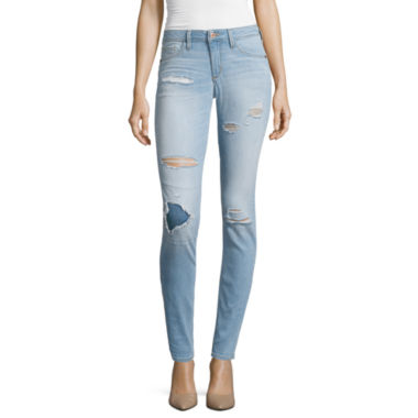 jcpenney.com | Arizona Destructed Skinny Jeans - Juniors