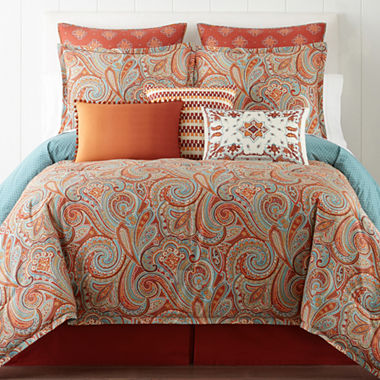 JCPenney Home™ Morocco 4-pc. Comforter Set & Accessories - JCPenney