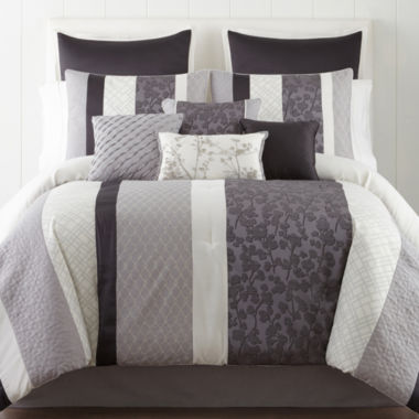 jcpenney.com | Home Expressions™ Nuance 10-pc. Comforter Set & Accessories