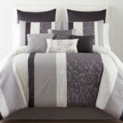 Home Expressions™ Nuance 10-pc. Comforter Set & Accessories