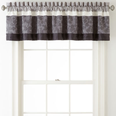Home Expressions™ Nuance Rod-Pocket/Tab-Top Lined Valance