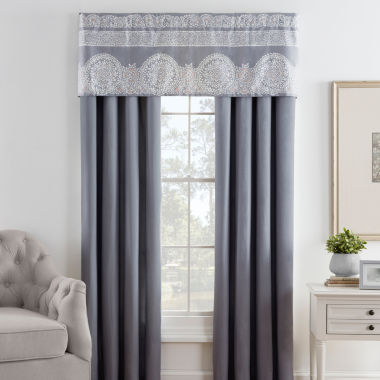 jcpenney.com | Eva Longoria Home Bethany 2-Pack Rod-Pocket/Tab-Top Curtain Panels