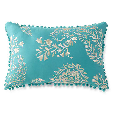 Jcpenney Red Decorative Pillows : JCPenney Home Casbah Oblong Decorative Pillow - JCPenney