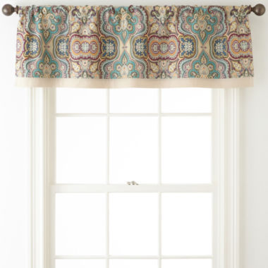 jcpenney.com | JCPenney Home™ Casbah Rod-Pocket/Tab-Top Lined Valance