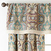 JCPenney Home™ Casbah 2-Pack Rod-Pocket/Tab-Top Lined Curtains