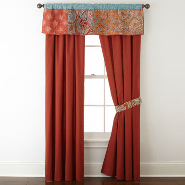 jcpenney.com | JCPenney Home™ Morocco Rod-Pocket/Back-Tab Lined Curtain Panels