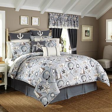 jcpenney com   Croscill Classics  Sandy Cove Comforter Set or Accessories. Croscill Classics  Sandy Cove Comforter Set or Accessories   JCPenney