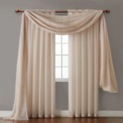 Infinity Sheer Rod-Pocket Curtain Panel
