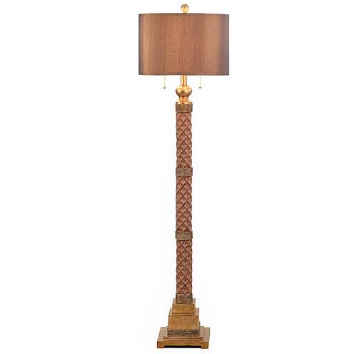 Catalina Faceted Floor Lamp