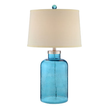 jcpenney.com | Catalina Turquoise Water Glass Table Lamp