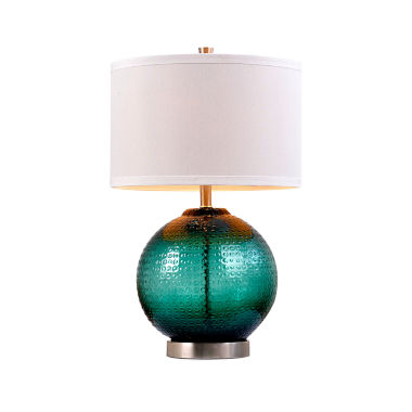 jcpenney.com | Catalina Jade Glass Table Lamp