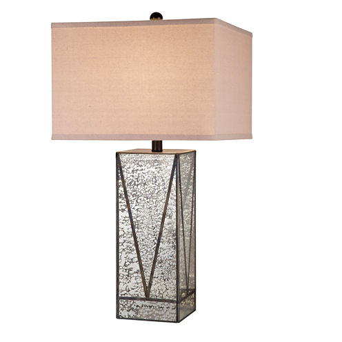 Catalina Black Mercury Glass Table Lamp