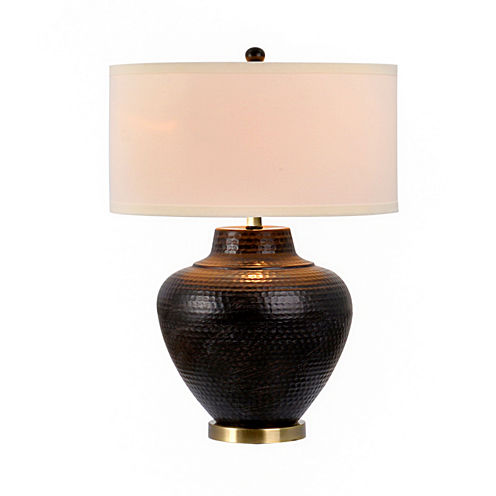 Catalina Hammered Metal Table Lamp