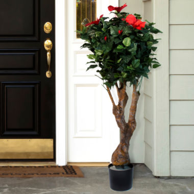 jcpenney.com | 4' Potted Hibiscus Tree