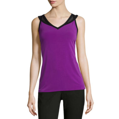 jcpenney.com | Worthington® Cutout Strappy Cami - Tall