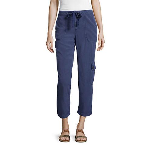 Liz Claiborne® Cargo Cropped Pants -Tall