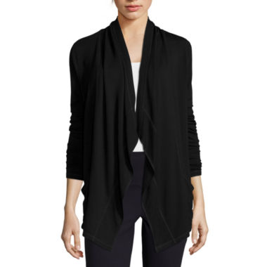 jcpenney.com | Liz Claiborne® Draped Knit Jacket