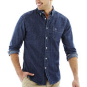 Dockers® Long-Sleeve Solid Chambray Shirt