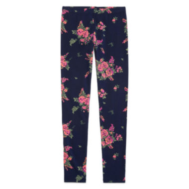 jcpenney.com | Arizona Printed Ankle Leggings - Girls 7-16 and Plus
