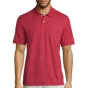 St. John's Bay® Short-Sleeve Pocket Polo Shirt