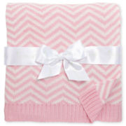 Pickles® Chevron Baby Blanket - Pink