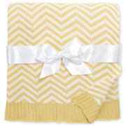 Pickles® Chevron Baby Blanket - Yellow