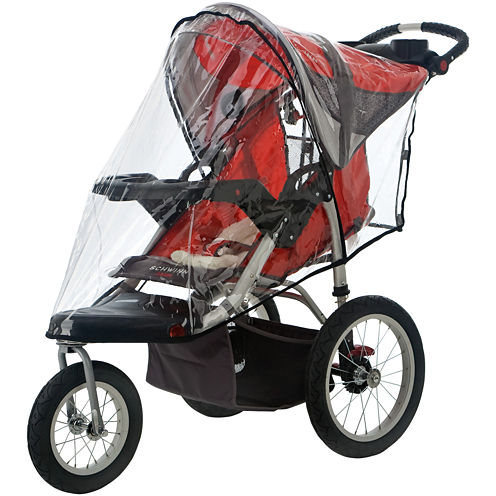 InStep® Deluxe WeatherShield for Single Swivel Wheel Stroller