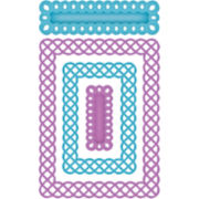 Spellbinders™ Nestabilities® A2 Card-Creator Die, Fancy Weave