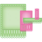 Spellbinders™ Nestabilities® 4-pc. A2 Card-Creator Die,Fancy Ribbon Threader