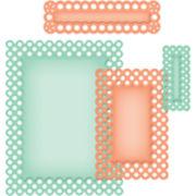 Spellbinders™ Nestabilities® 4-pc. A2 Card-Creator Die, Polka Dots