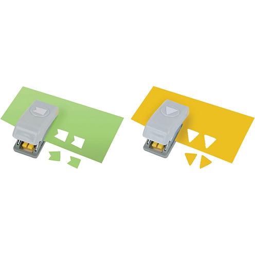 Mini Paper Punches—Pennants, 2-pk