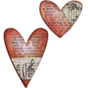 Sizzix® Movers & Shapers Magnetic Dies by Tim Holtz® 2-pk. Hearts