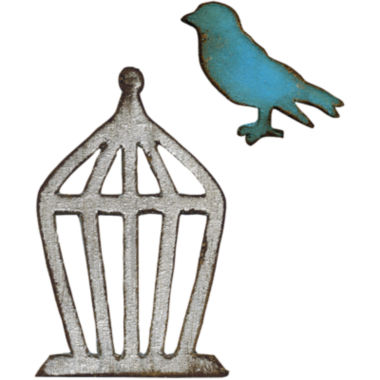 jcpenney.com | Sizzix® Movers & Shapers Magnetic Dies by Tim Holtz® 2-pk. Mini Bird & Cage