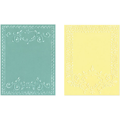 Sizzix® Textured Impressions™ 2-pk. Embossing Folders, Ornate Frames