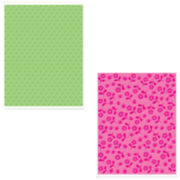 Sizzix® Textured Impressions™ 2-pk. Embossing Folders,  Dots & Flowers
