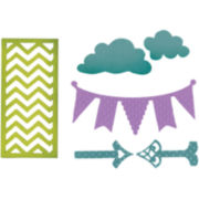 Sizzix® Thinlits Die, 6-pk. Arrows/ Banners/ Chevrons & Clouds