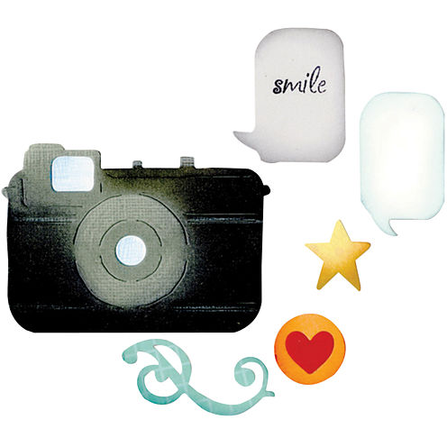 Sizzix® Thinlits Die, 6-pk. Camera