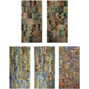 Tim Holtz® Idea-Ology Cardstock Salvage Stickers, Destinations