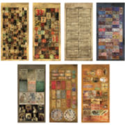 Tim Holtz® Idea-Ology Cardstock Salvage Stickers—Lost & Found