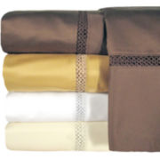 Veratex 800tc Egyptian Cotton Sateen Embroidered Prince Set of 2 Pillowcases