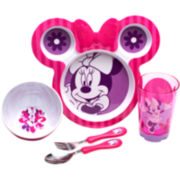 Zak Designs® Minnie Mouse 8-pc. Dinnerware Set