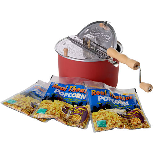 Whirley Pop Real Theater Popcorn Set
