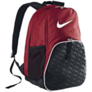 Nike® Brasilia Backpack – Gym Red