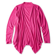 Total Girl® Flyaway Cardigan - Girls 6-16 and Plus