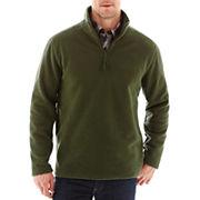 St John S Bay 174 Long Sleeve Quarter Zip Fleece Pullover