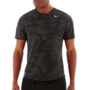 Nike® Camo Dri-FIT Running Top