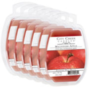 City Creek Candles™ Set of 6 Wax Melts – Macintosh Apple